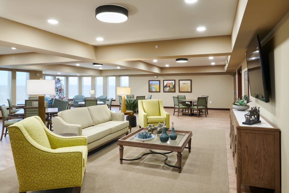 Lounge at Willows Landing in Monticello, Minnesota
