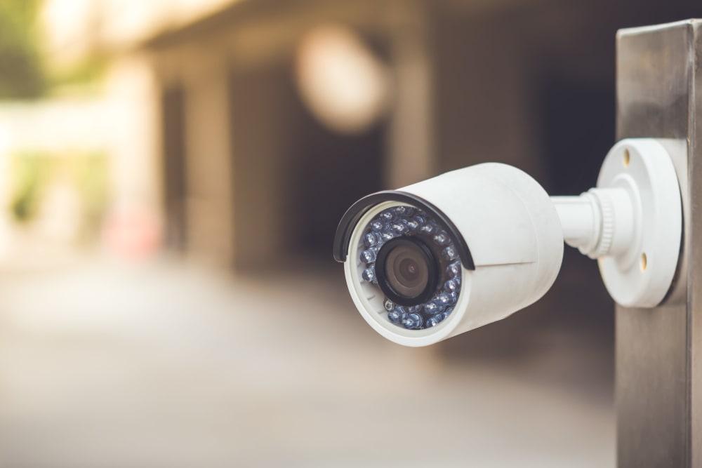 Digital surveillance system at Monster Self Storage in Winston-Salem, North Carolina