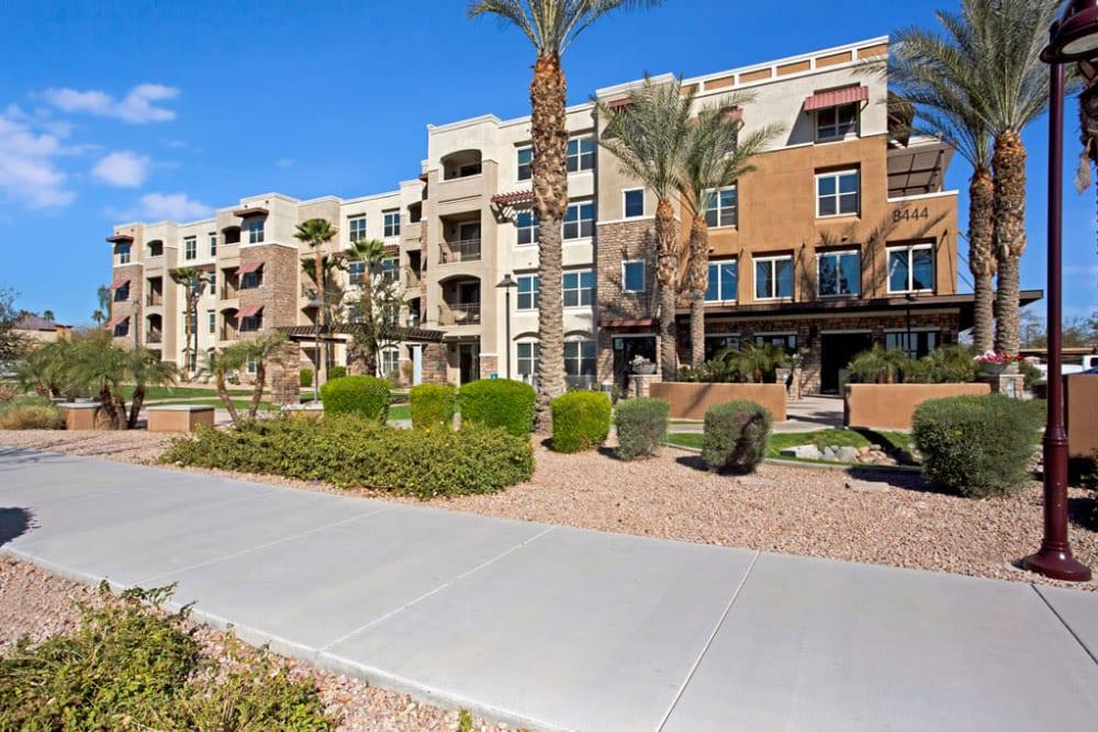Exterior at Luxe Scottsdale Apartments in Scottsdale, Arizona