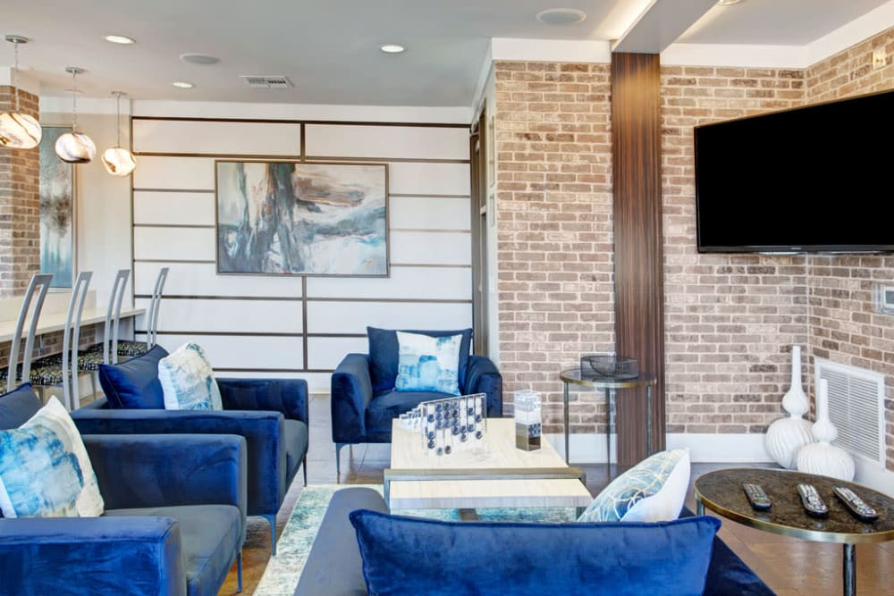Seating area at Luxe Scottsdale Apartments in Scottsdale, Arizona