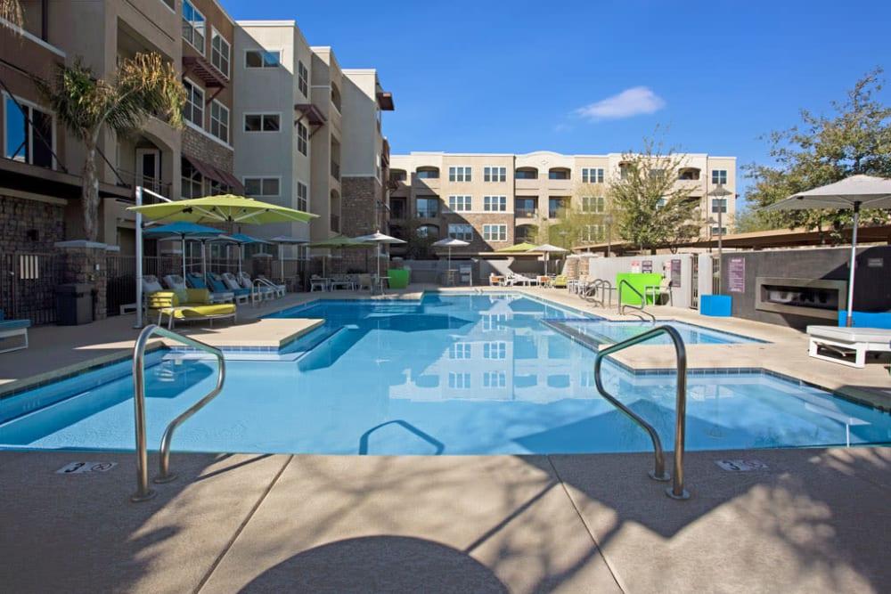 Pool at Luxe Scottsdale Apartments in Scottsdale, Arizona