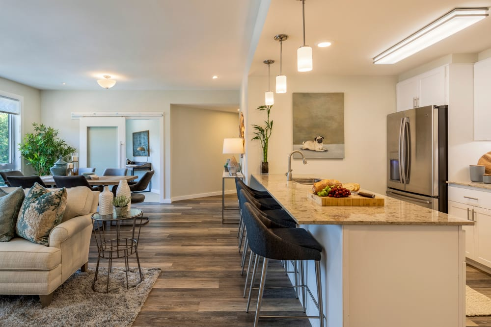 Independent living apartment at The Springs at Lake Oswego in Lake Oswego, Oregon