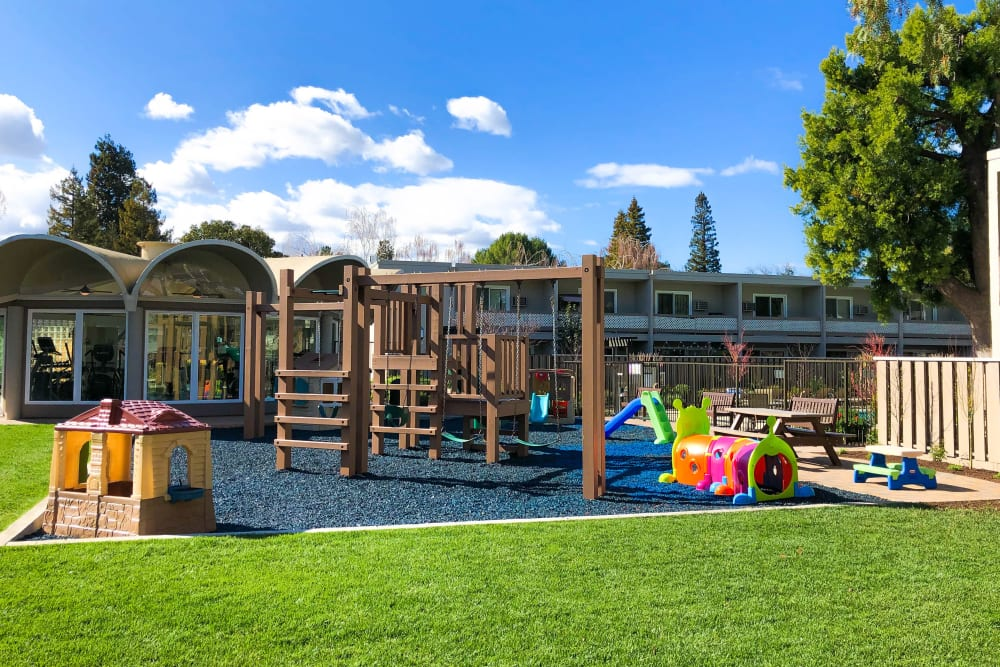 Playground at Halford Gardens Apartments in Santa Clara, California