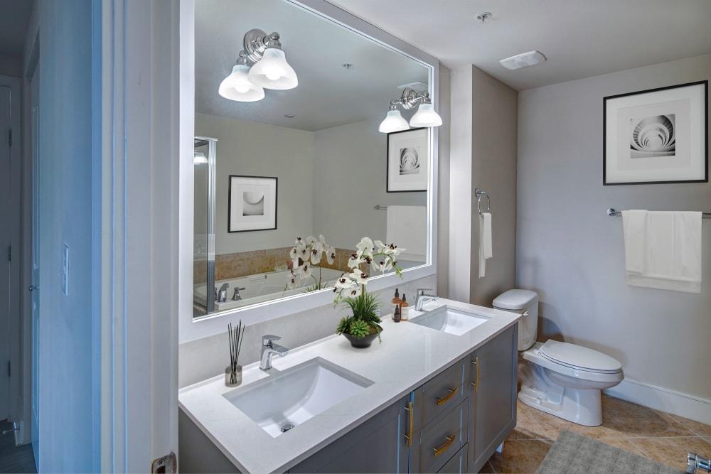 Bathroom at The Heritage at Boca Raton in Boca Raton, Florida