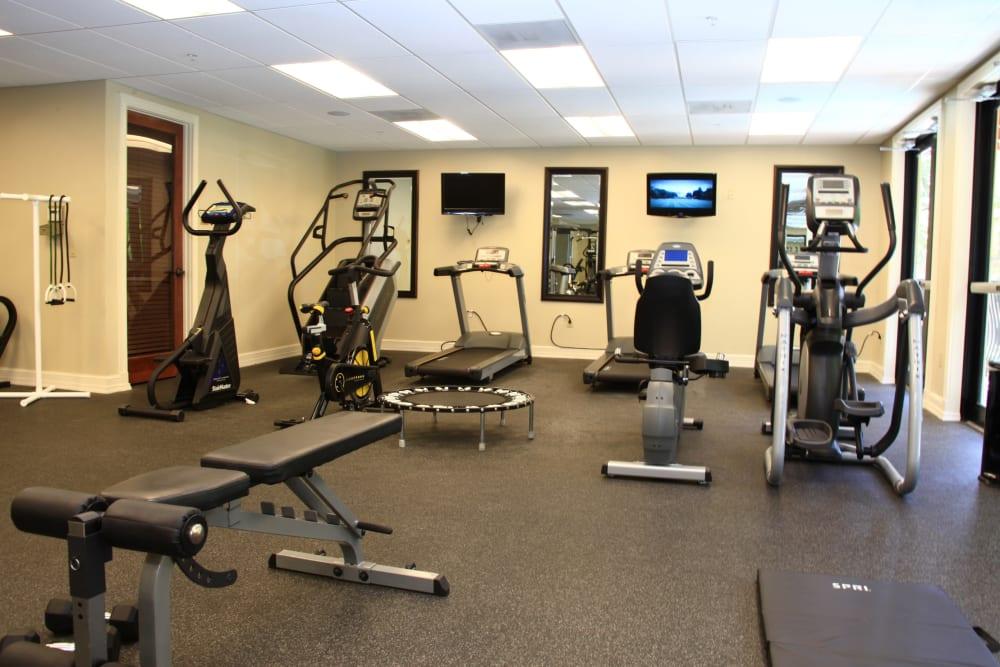 The Heritage at Boca Raton's fitness center in Boca Raton, Florida