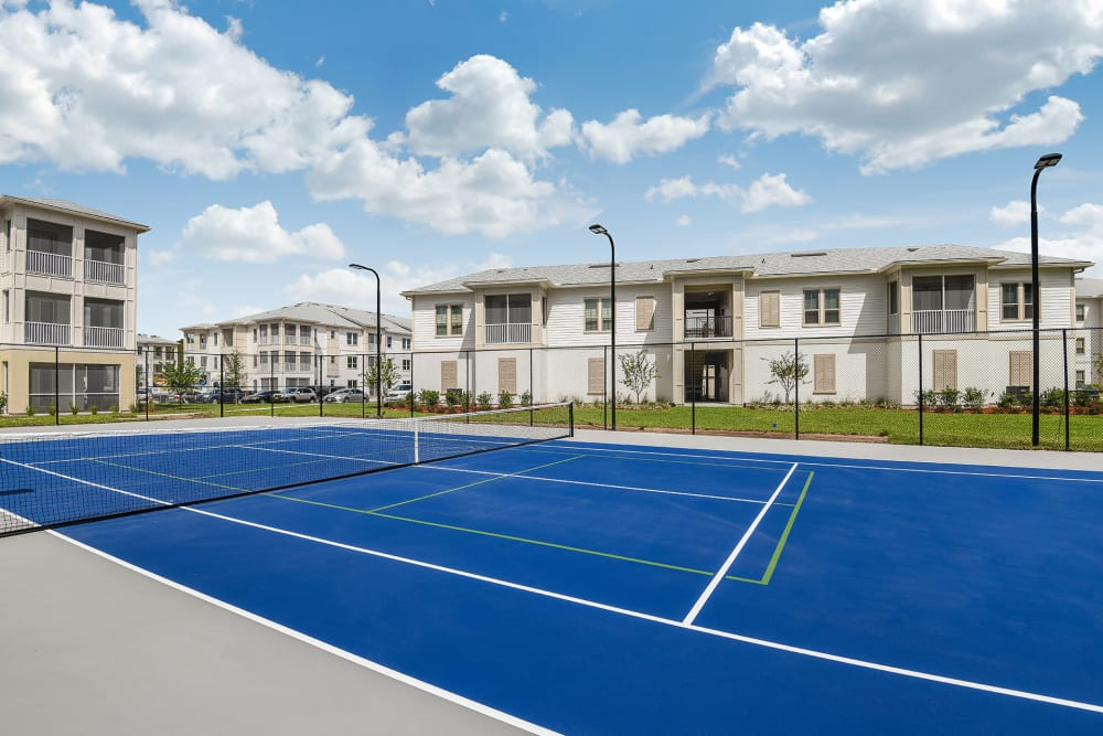 tennis court at Palm Bay Club at Jacksonville