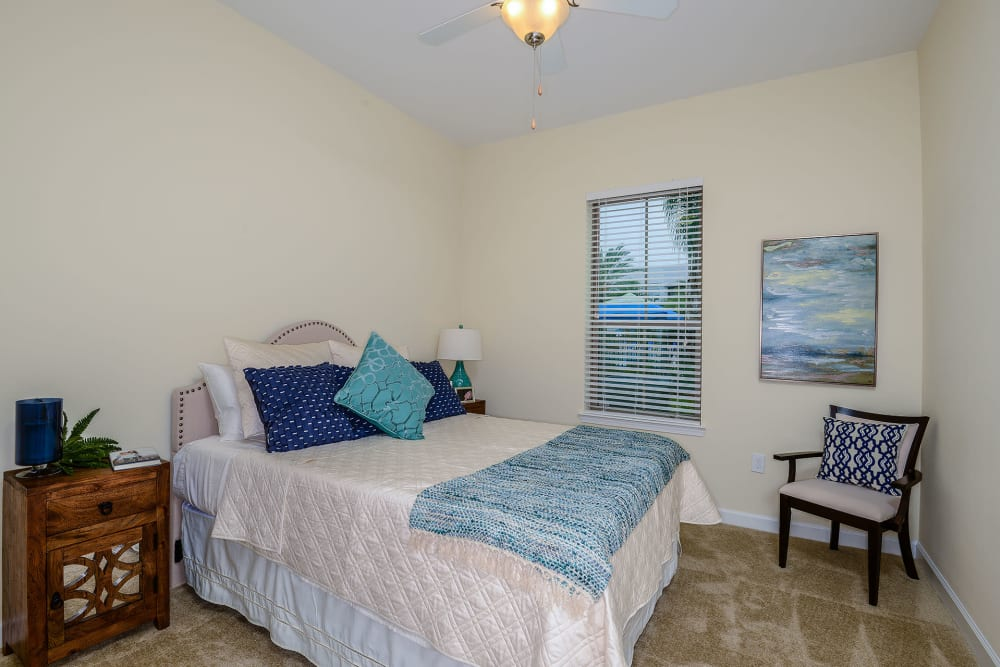 Bedroom at Palm Bay Club in Jacksonville