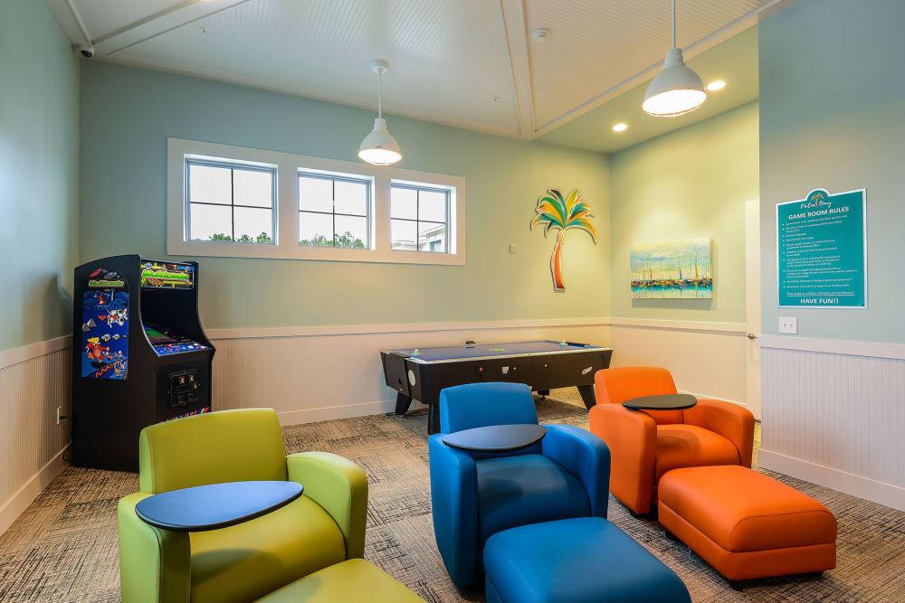 comfy seating at Palm Bay Club at Jacksonville