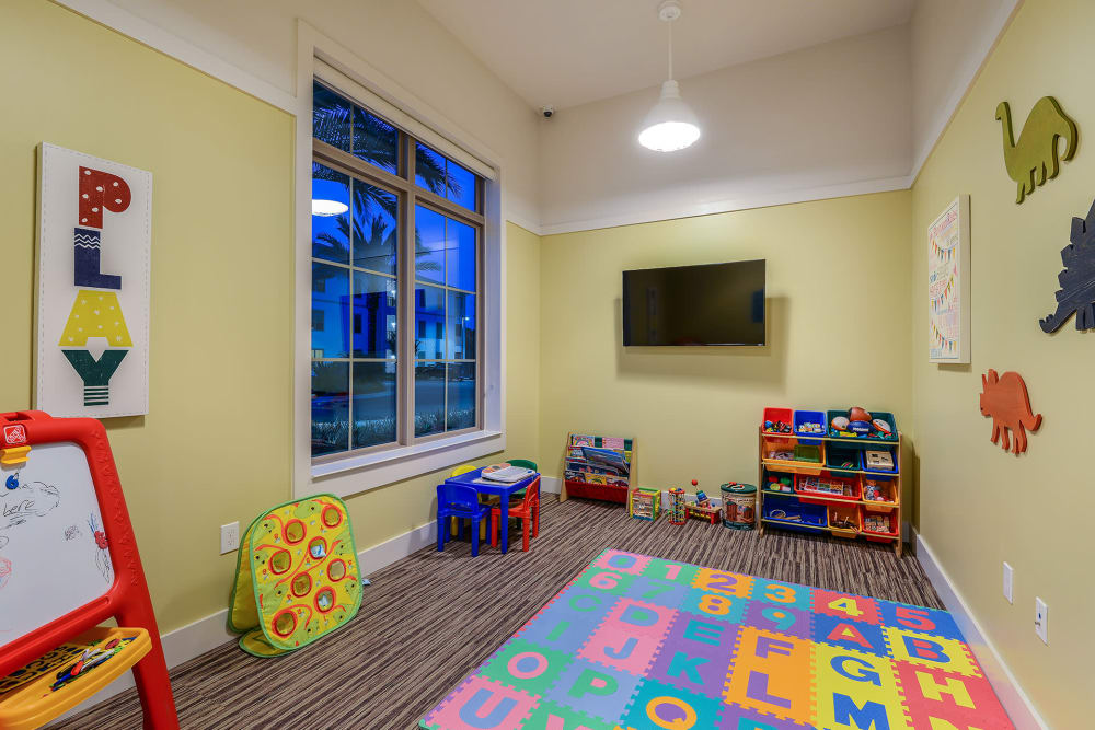 child play room at Palm Bay Club at Jacksonville