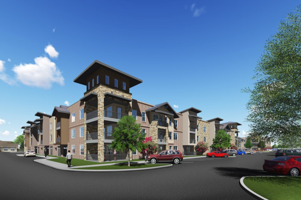 Rendering of Watermere at Flower Mound in Flower Mound, Texas