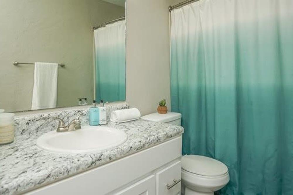 Bathroom at 1801 MetroWest in Orlando, Florida