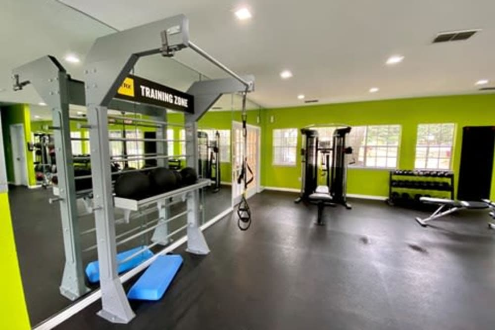 Gym at 1801 MetroWest in Orlando, Florida