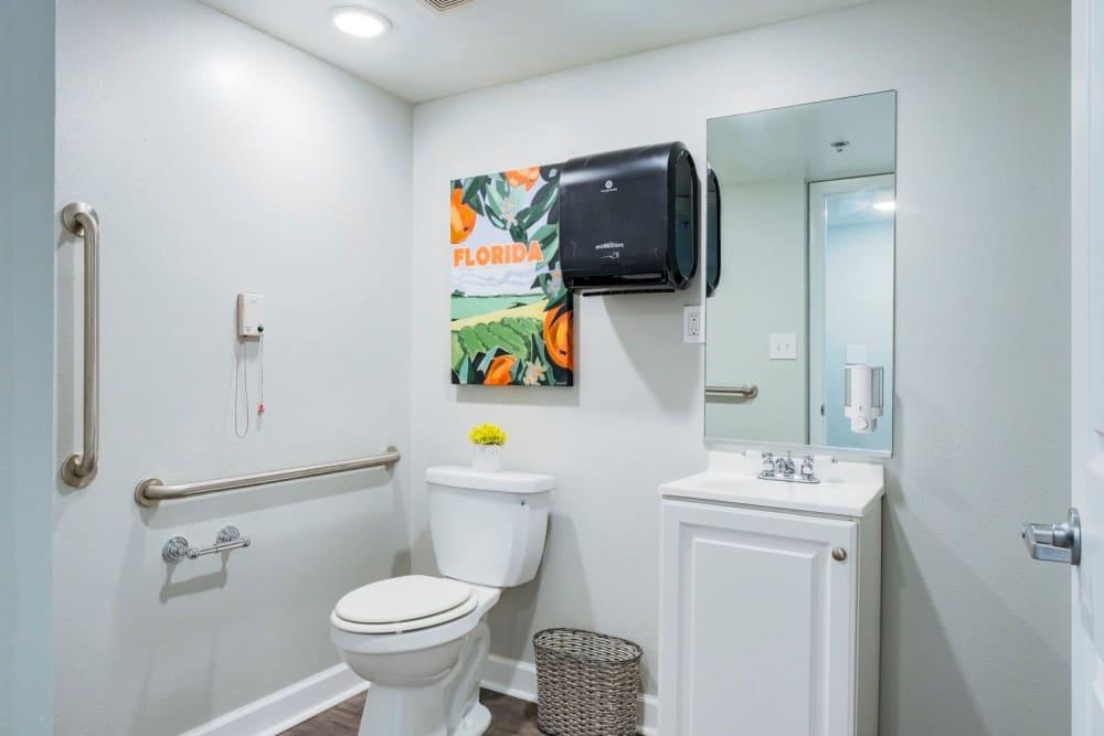 Bathroom at Grand Villa of Sarasota