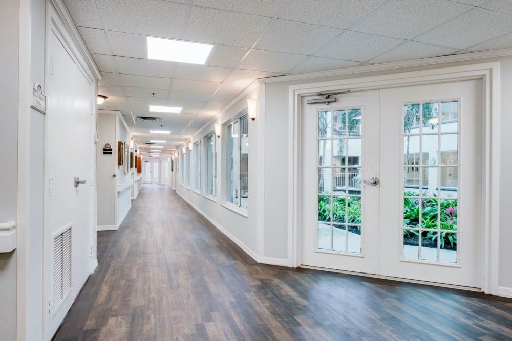 Hallway at Grand Villa of Sarasota