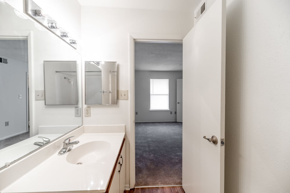 Bathroom at Apartments in Concord, North Carolina