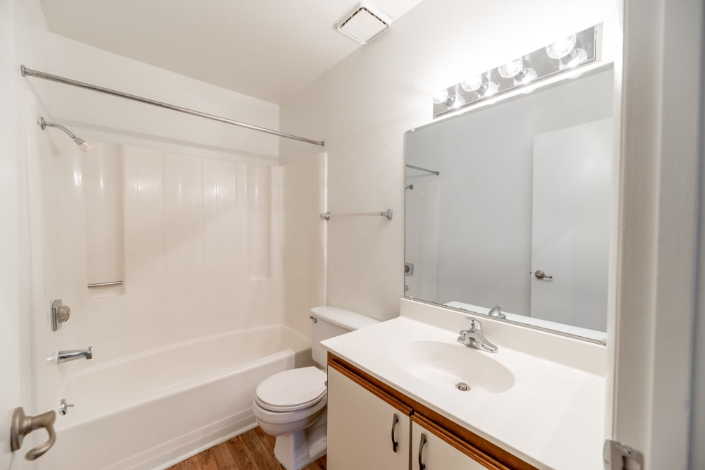 Bathroom at Summerlin at Concord Apartment Homes in Concord, North Carolina