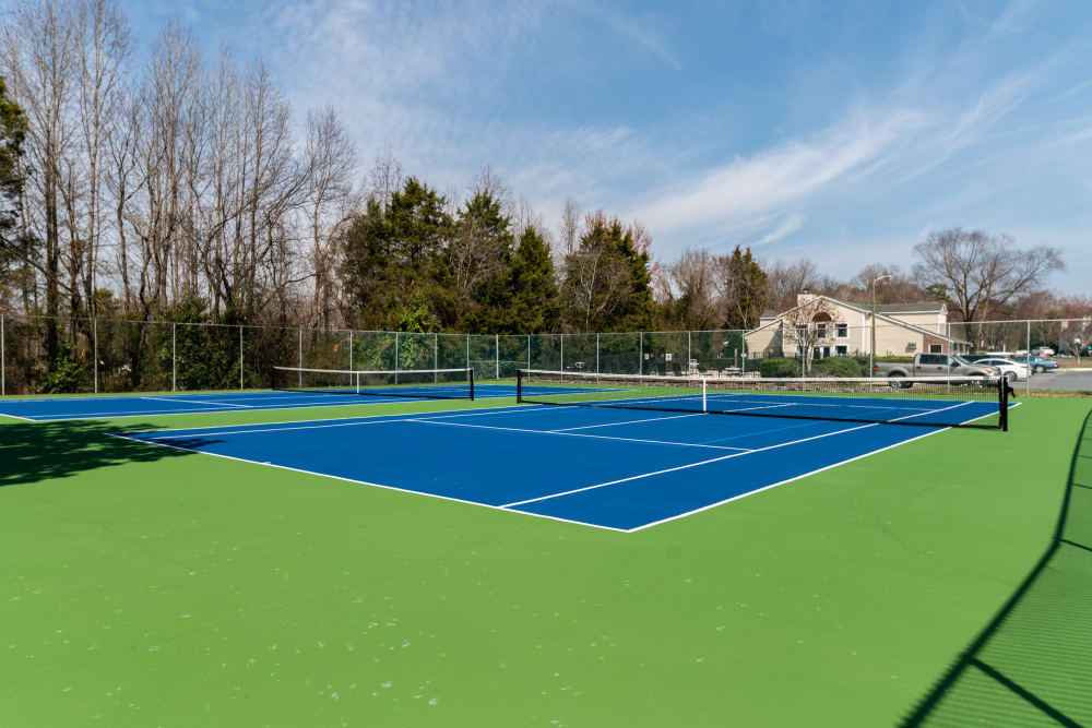Our Apartments in Concord, North Carolina offer a Tennis Court