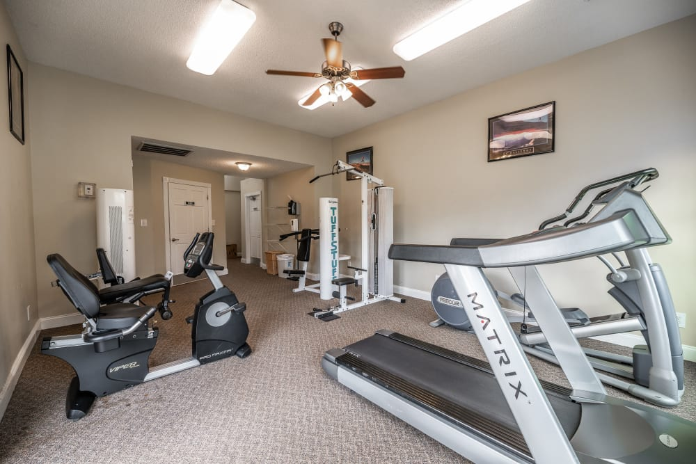 Our Apartments in Concord, North Carolina offer a Gym