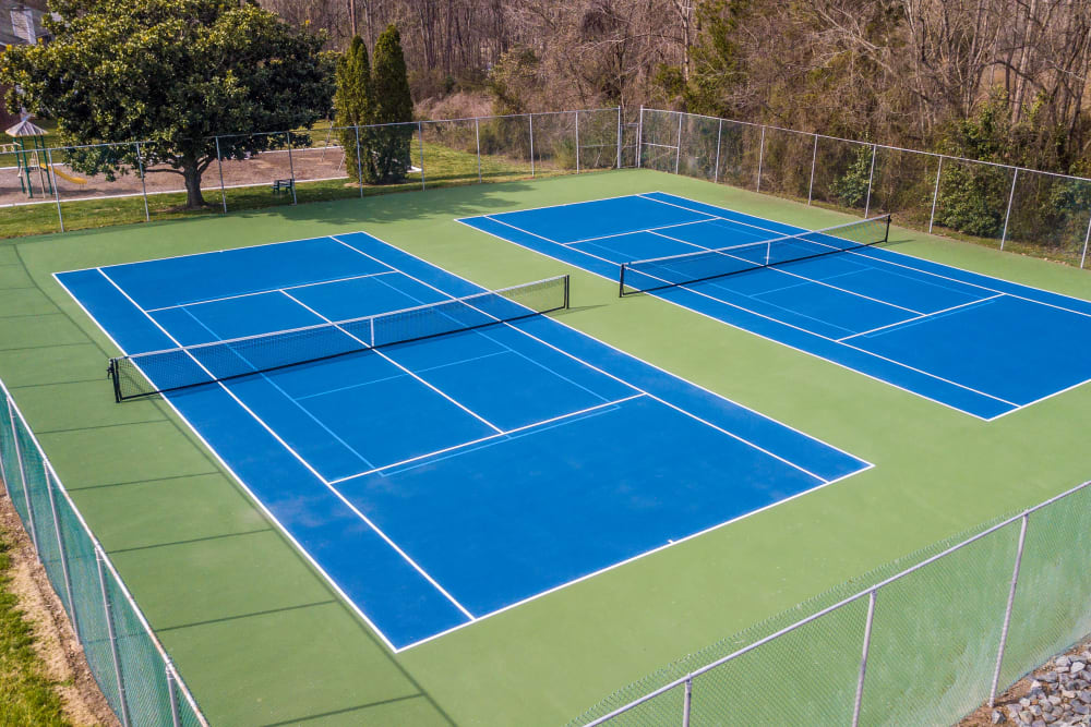 Enjoy Apartments with a Tennis Court at Summerlin at Concord Apartment Homes in Concord, North Carolina