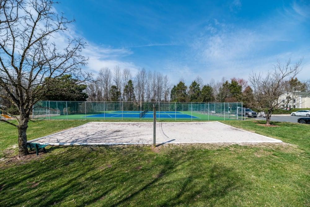 Our Apartments in Concord, North Carolina offer a Volleyball Court