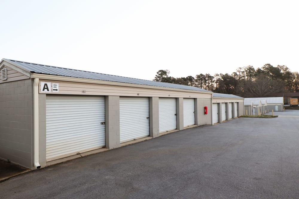 Drive up storage at StayLock Storage in Mauldin, SC