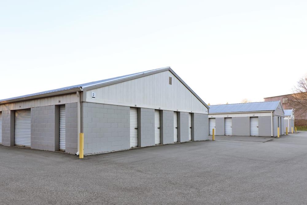 Outdoor storage at StayLock Storage in Mauldin, South Carolina