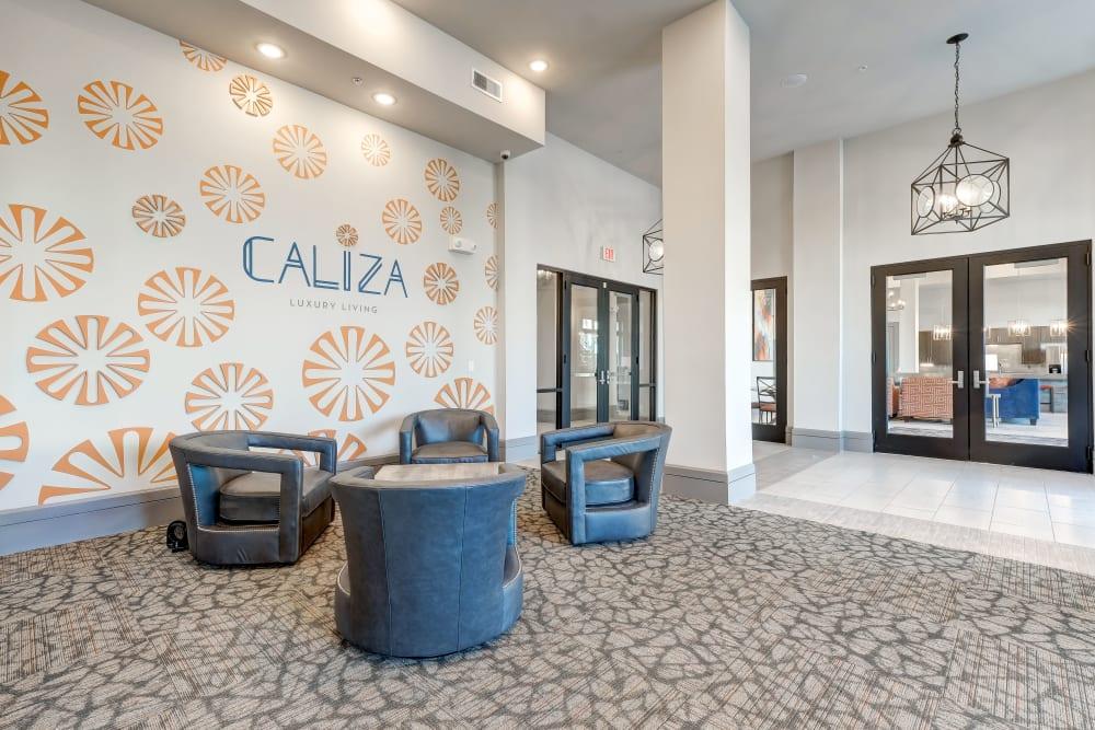 Lobby at Caliza in Cedar Park, Texas