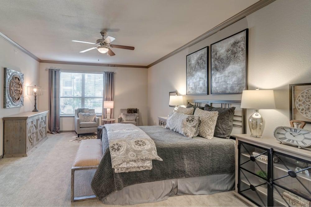 Bright, spacious bedroom at Caliza in Cedar Park, Texas