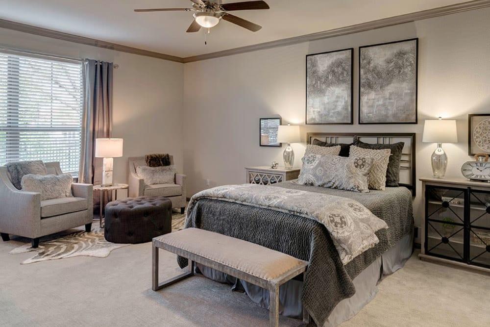 Primary bedroom at Caliza in Cedar Park, Texas