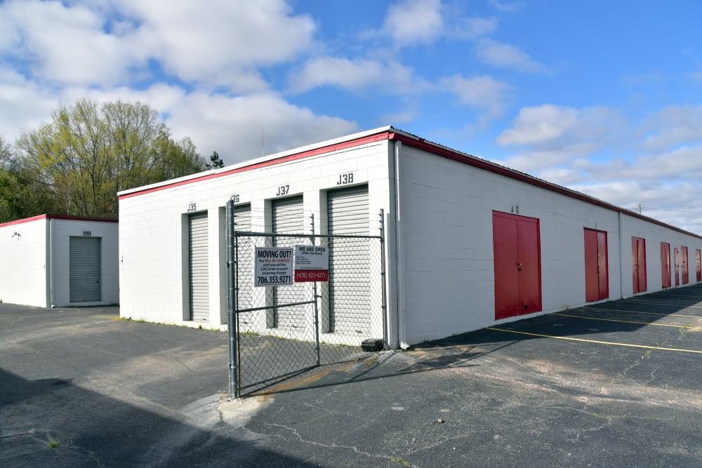 Gate access at StayLock Storage in Warner Robins,GA