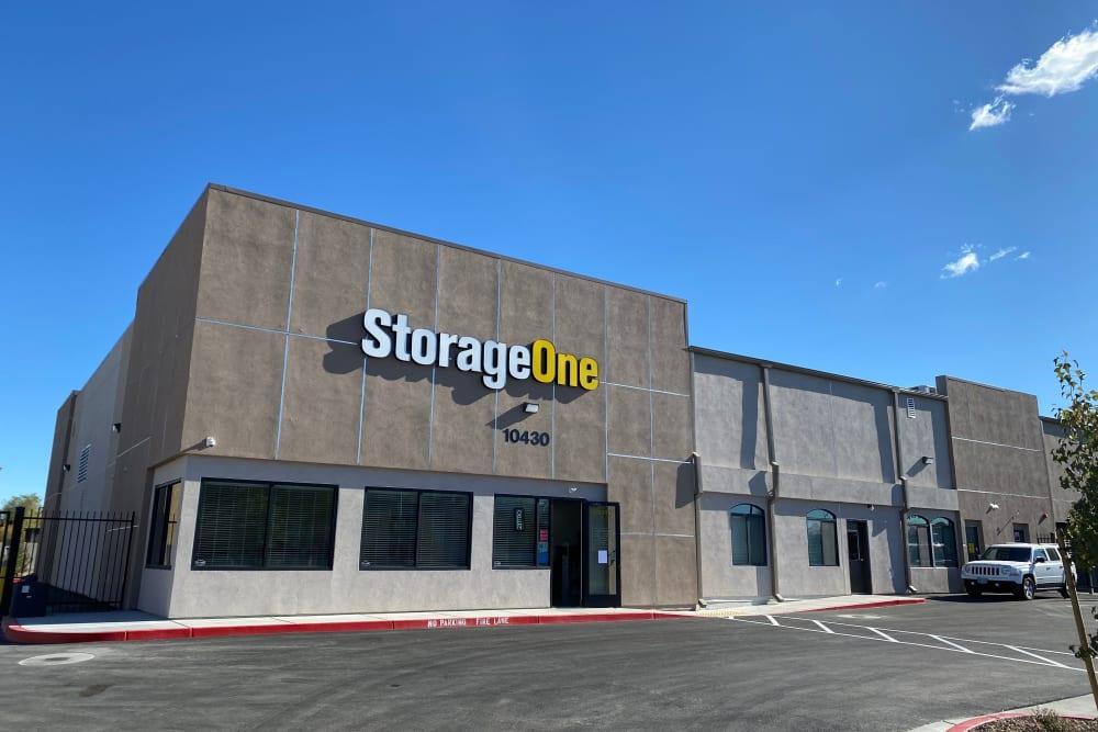 Exterior view of StorageOne Horizon & Sandy Ridge in Henderson, Nevada