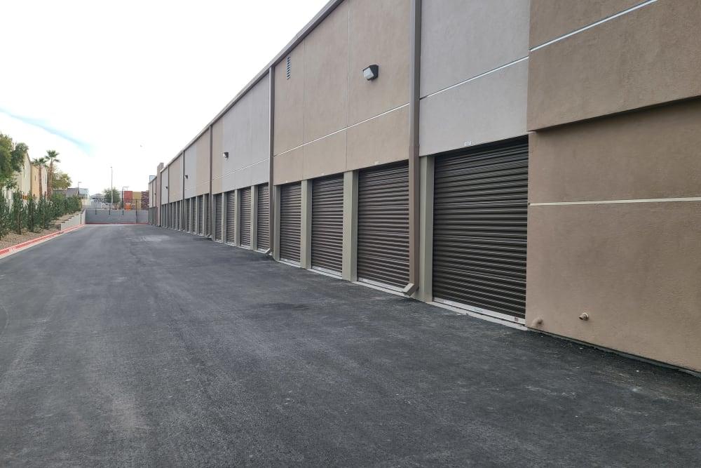 outdoor storage units at StorageOne Horizon & Sandy Ridge in Henderson, Nevada