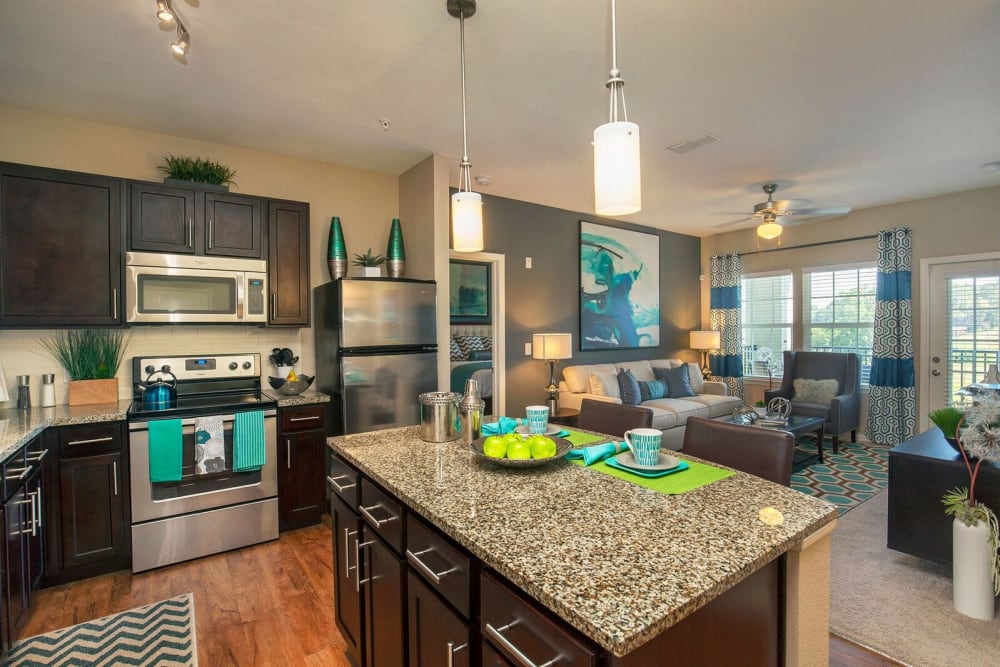 Spacious floor plan at Integra Hills Preserve Apartments in Ooltewah, Tennessee