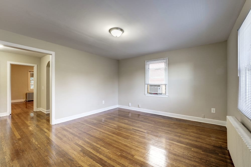 Spacious room at Avondale Apartments in Bethesda, Maryland