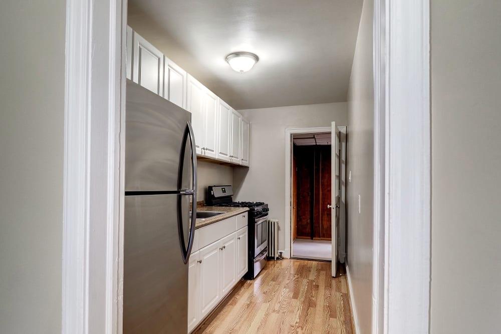 Modern kitchen at Avondale Apartments in Bethesda, Maryland