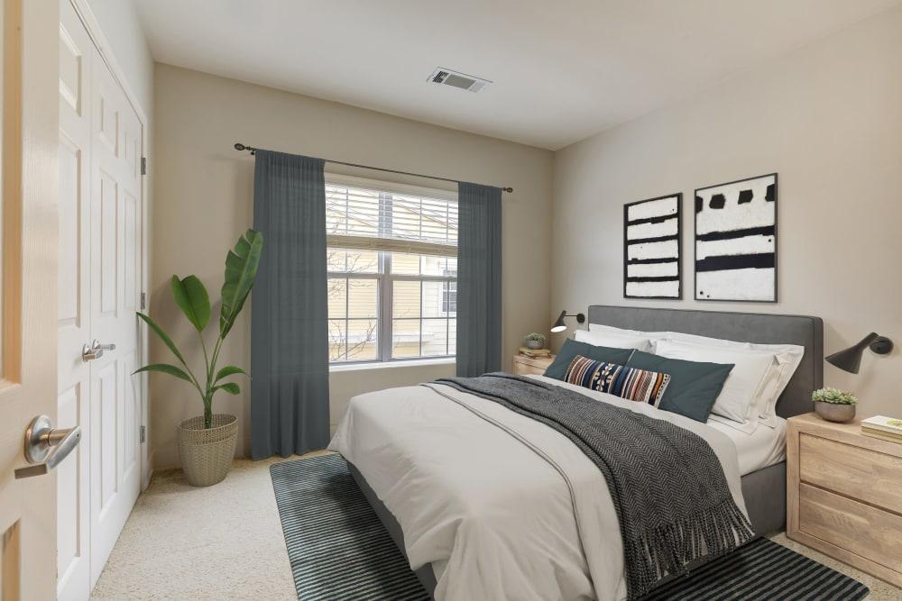 Bedroom at at Sofi at Salem Station in Salem, MA