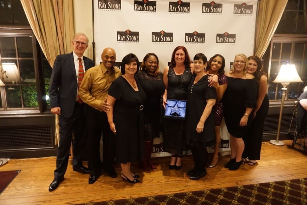 Ray Stone team members at annual banquet