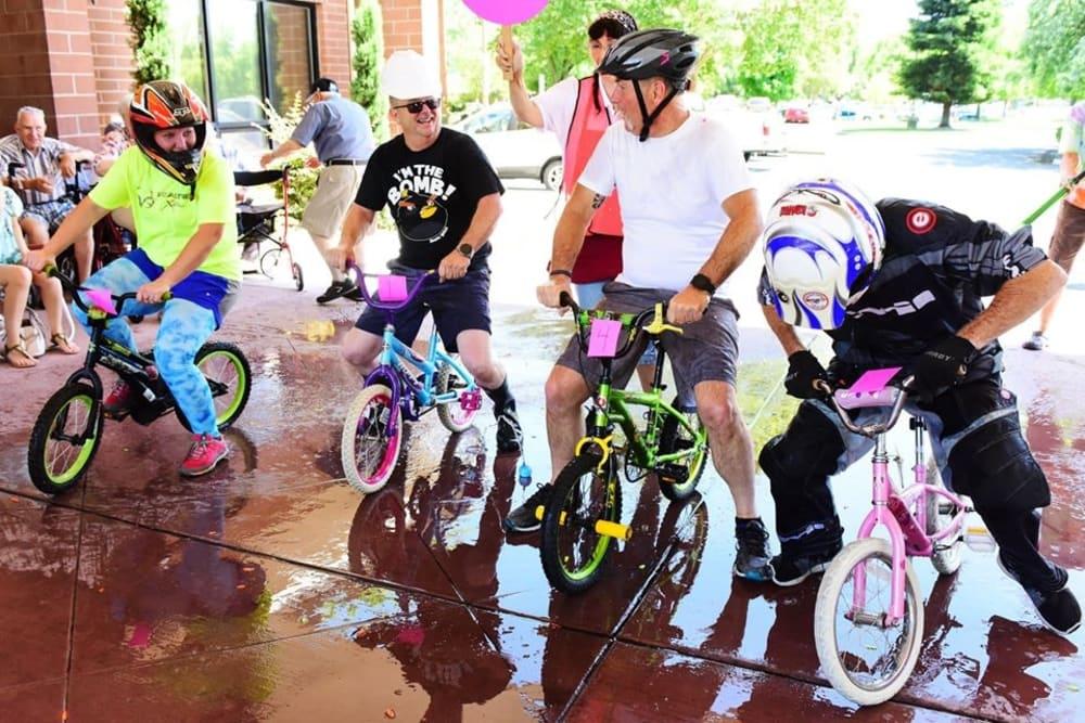 Ray Stone Inc. bike event