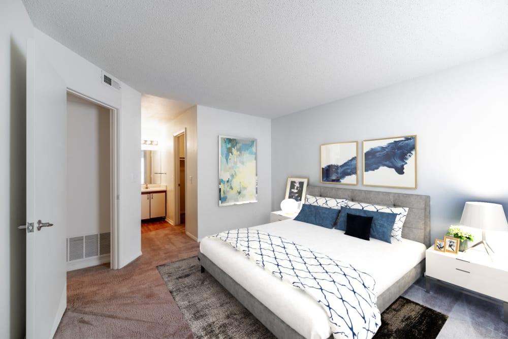 Bedroom at Apartments in Concord, North Carolina
