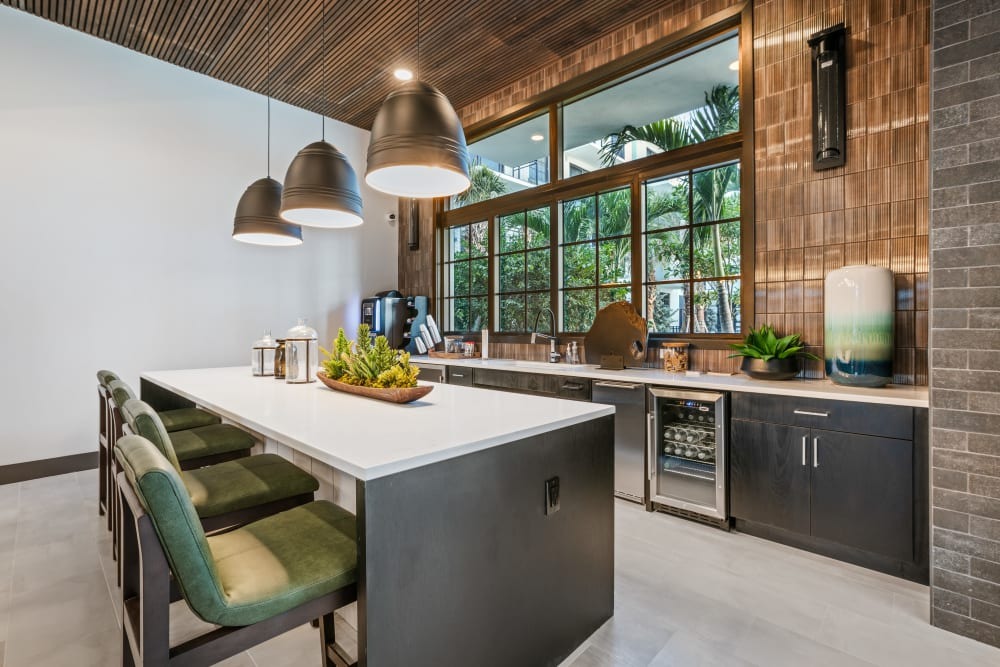 Enjoy Apartments with a Community Kitchen at The District Flats in West Palm Beach, Florida