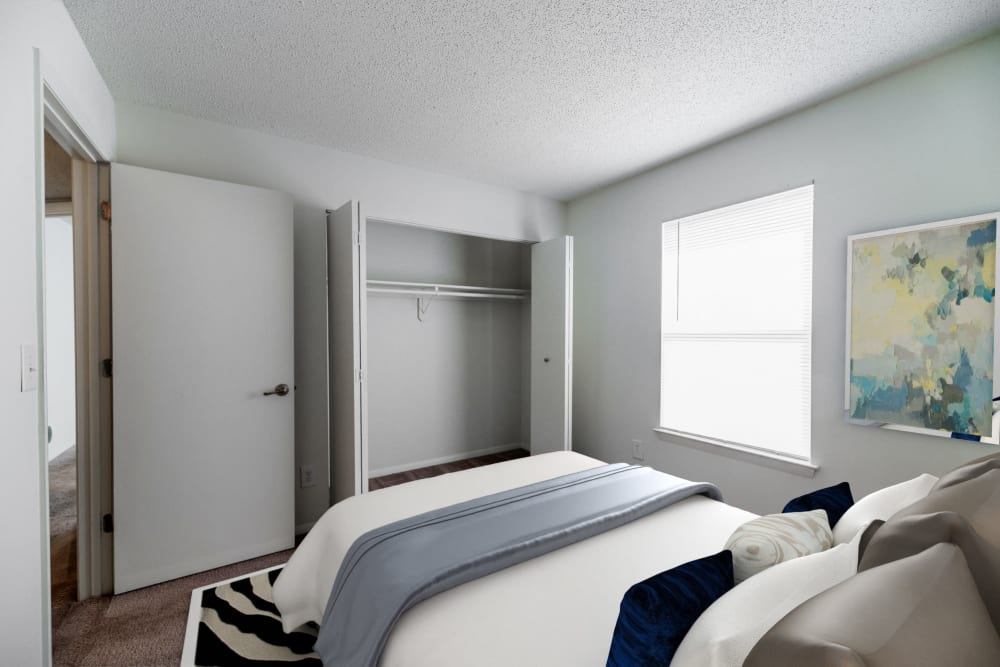 Bedroom at Summerlin at Concord Apartment Homes in Concord, North Carolina