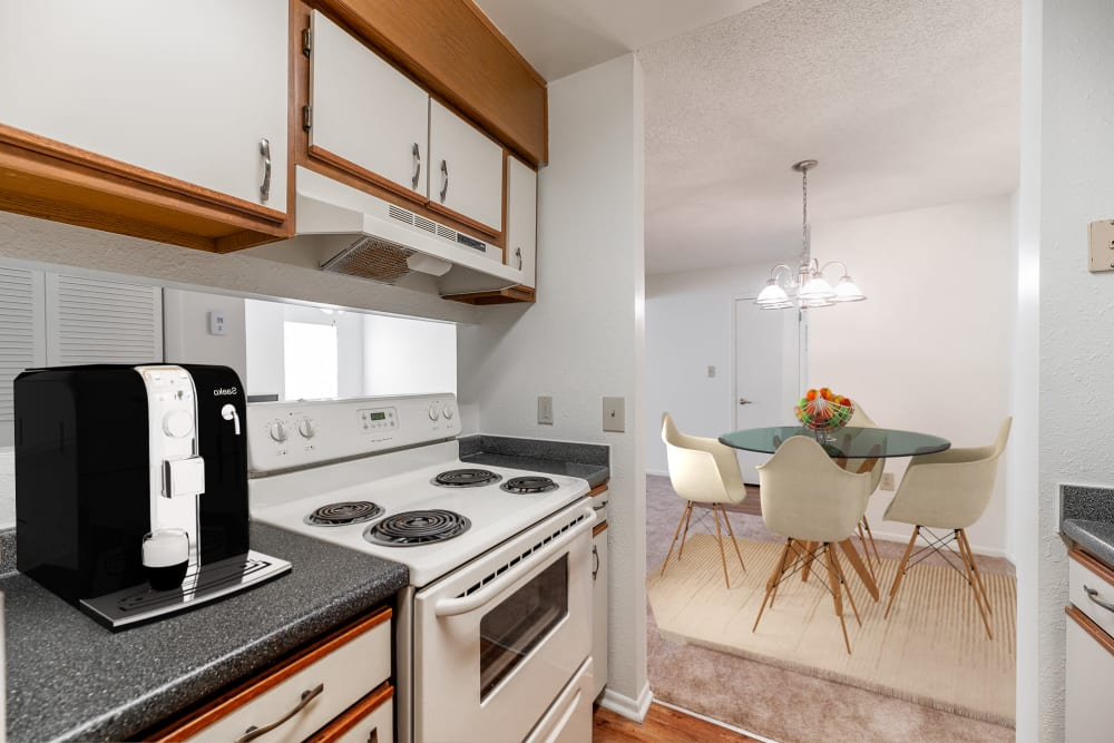 Kitchen at Summerlin at Concord Apartment Homes in Concord, North Carolina