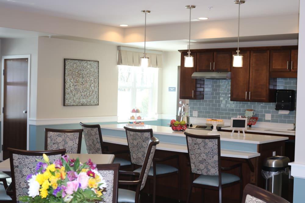 Community kitchenettes available at Ebenezer Senior Living communities
