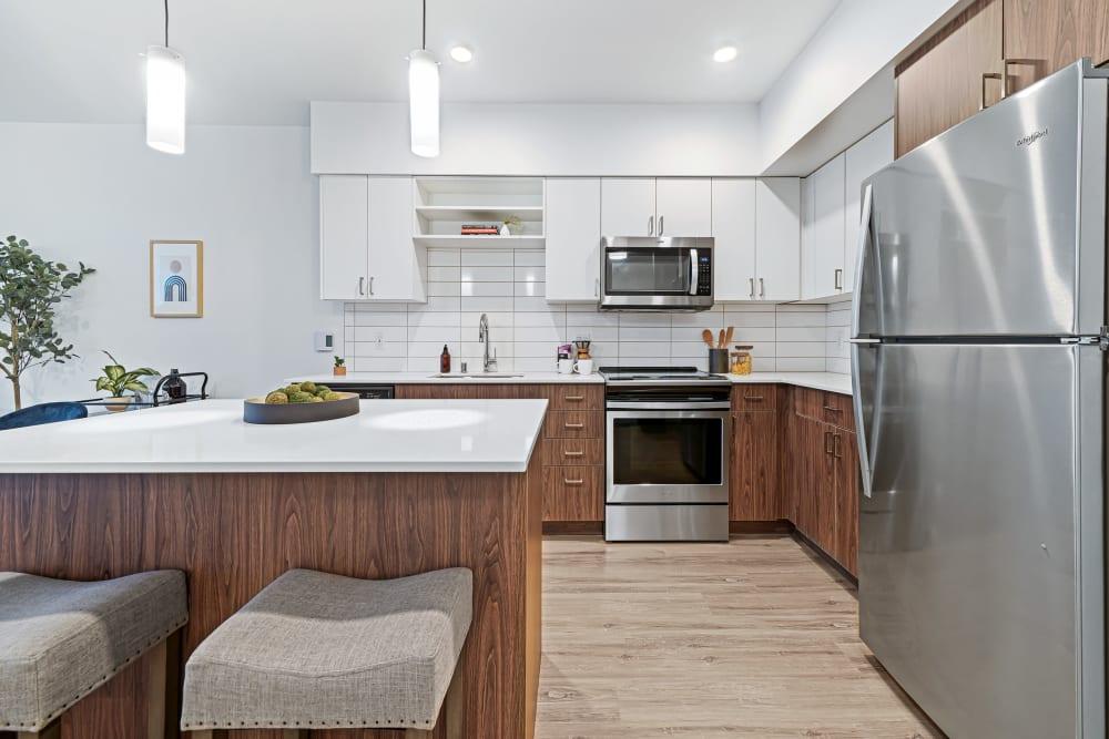 Beautiful Modern Kitchen at The Verge in Auburn, WA