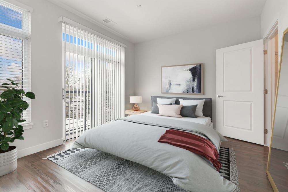 Bedroom at Lineage at North Patrick Street