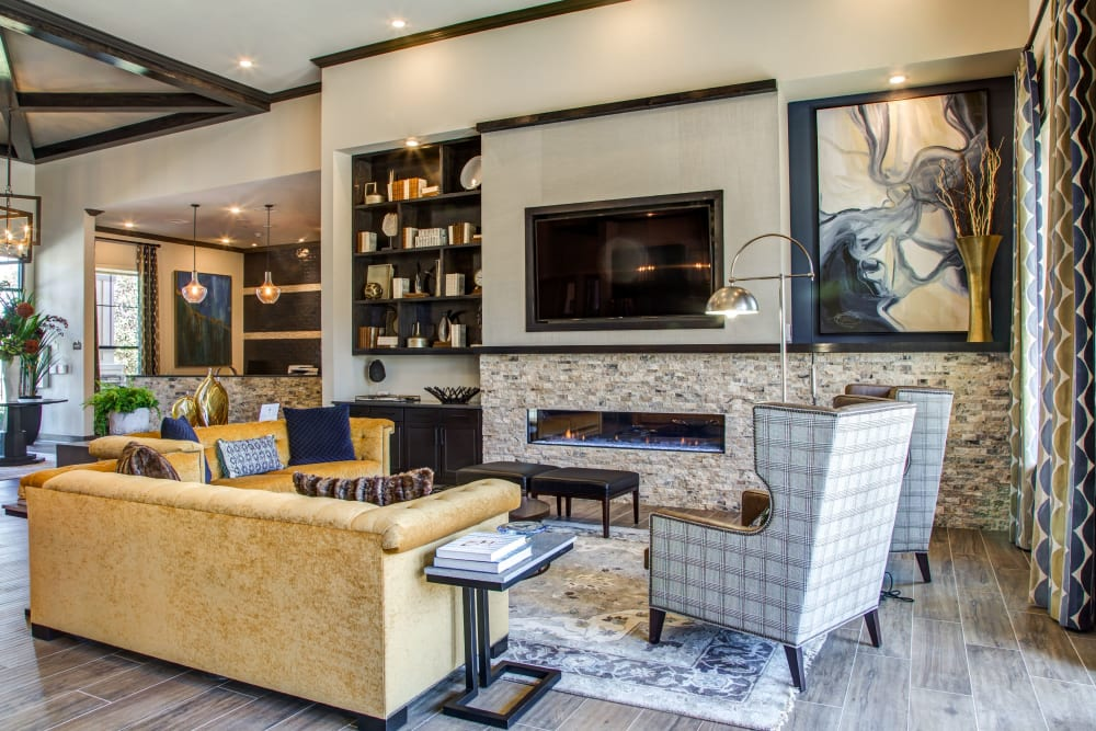 Clubhouse at Waterford Trails in Spring, Texas