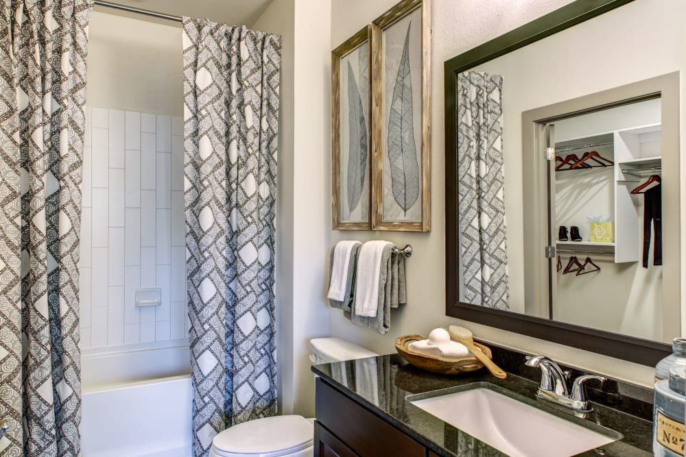 Bathroom at Waterford Trails in Spring, Texas