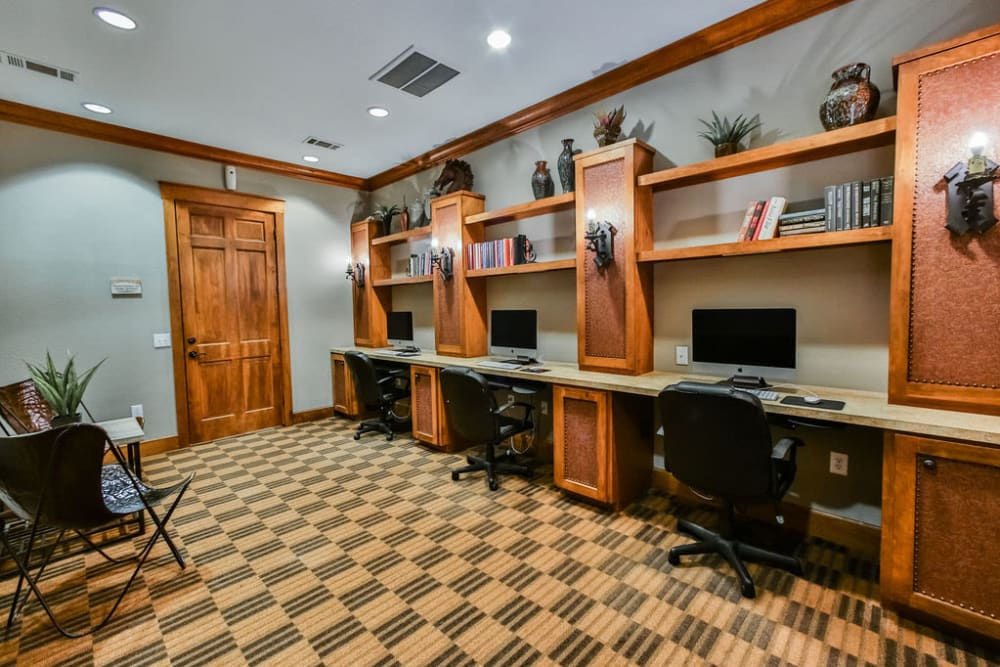 Business center at Stone Creek at The Woodlands in The Woodlands, Texas