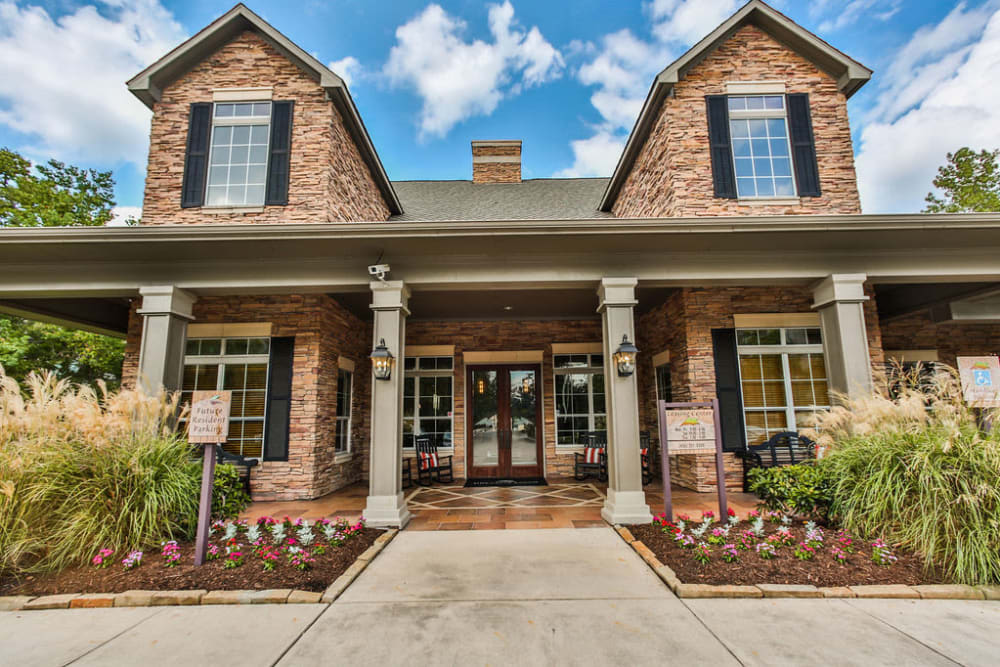 Leasing office at Stone Creek at The Woodlands in The Woodlands, Texas