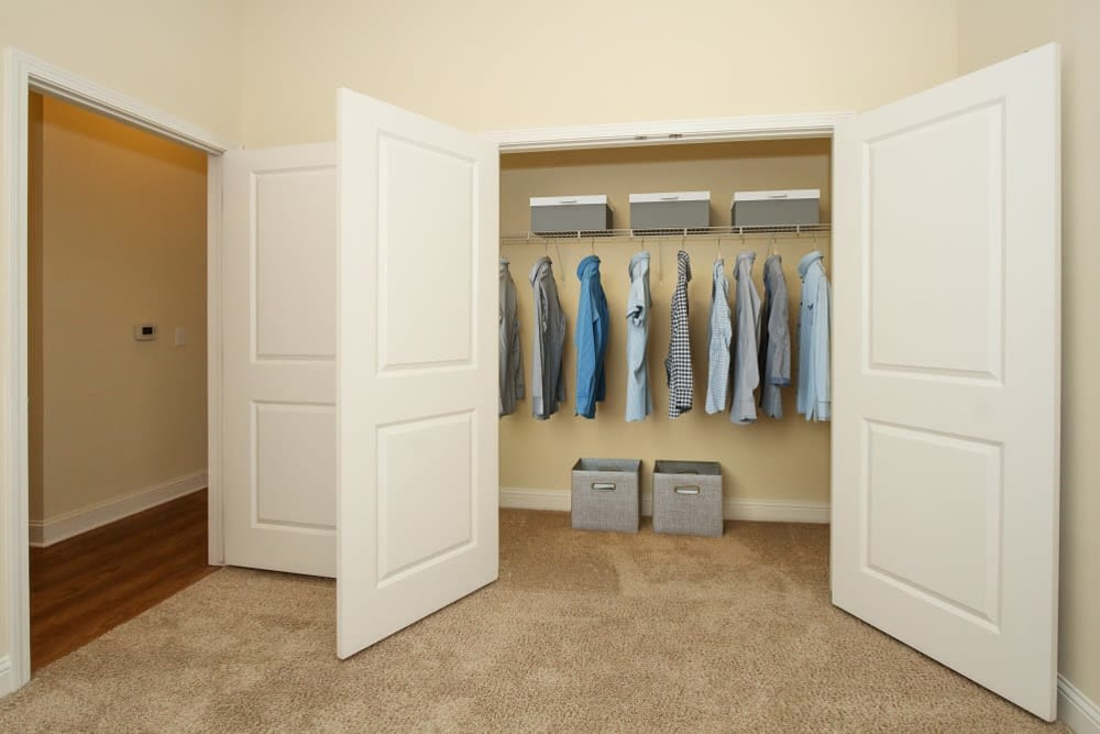 Large closet at Morehead West in Charlotte, North Carolina